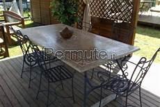 tavoli e sedie da giardino usati tavolo in ottime condizioni con sedie in metallo