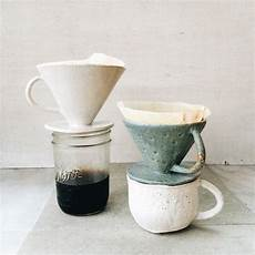 i can t get over how cute these coffee drippers are thanks kchossack pottery caffeinated