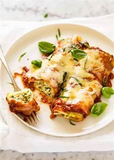 Cannelloni Spinat Ricotta - spinach ricotta cannelloni recipetin eats