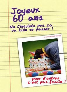 Carte Invitation Anniversaire 60 Ans Homme