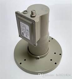 high gain c band dish lnb 5150mhz dual pole single output low loss external tuner box