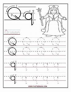 letter tracing worksheets q 23275 printable letter q tracing worksheets for preschool preschool worksheets alphabet worksheets