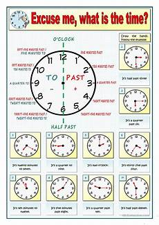 time worksheets esl adults 2985 excuse me what is the time part 1 worksheet free esl printable worksheets made by teachers