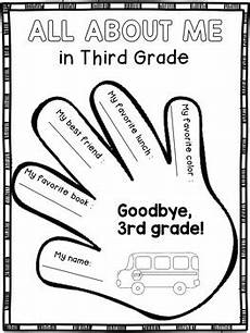 end of year worksheets for 3rd grade end of the year activities for third grade memory book by s wonderland