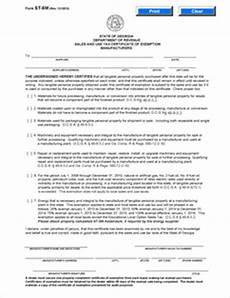 form st 5m fillable manufacturer s exemption certificate rev 12 12