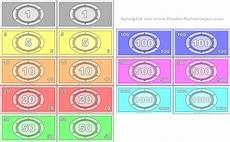 kinder malvorlagen spielgeld spielgeld ausdrucken vorlagen