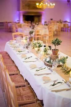d 233 coration centre de table nature bois olivier jute