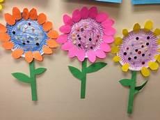 Blume Basteln Kinder - blumen aus pappteller basteln mit kindern crafts for
