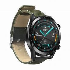 Bakeey 22mm Canvas Leather Smart by Bakeey 22mm Leather Smart Band For Huawei Gt 2