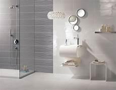 modele salle de bain faience carrelage mural gris design salle de bains flavia espace