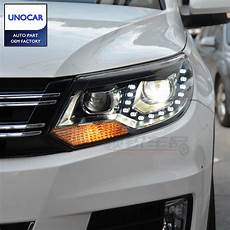 for vw tiguan headlights 2011 2014 new tiguan led