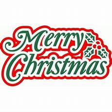 silhouette design store view design 50338 merry christmas word art
