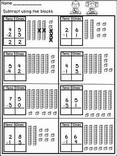 subtraction with regrouping worksheets 1st grade 10659 digit subtraction without regrouping math subtraction 1st grade math worksheets