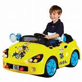 Minions 6 Volt Rocket Car Electric Battery Powered Ride On