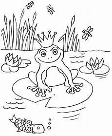 Malvorlage Frosch Gratis Kostenlose Malvorlage M 228 Rchen Froschk 246 Nig Zum Ausmalen