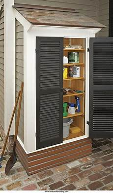 Garden Storage For Small Spaces 15 creative diy small storage shed projects for your