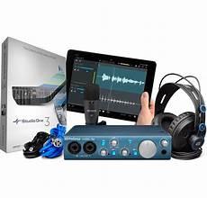 presonus audiobox itwo studio presonus audiobox itwo studio recording bundle includes interface microphone and headphones