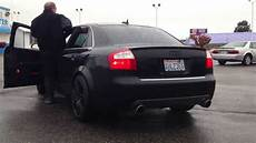 2005 audi s4 b6 4 2 v8 muffler delete straight pipes youtube