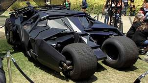 Dad And Son Prove Their Superfandom With Batmobile