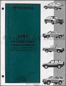 1995 toyota tercel and paseo air conditioner installation manual original 1997 toyota a c installation manual original corolla tercel paseo celica t100 tacoma 4runner rav4