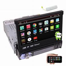 1din Android 6 0 Car Stereo Touch Screen Car Dvd Player