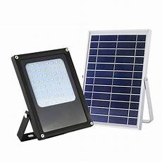 solar powered 6 watt black outdoor integrated led landscape flood light with bright selectable