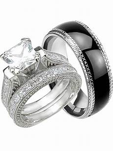 laraso co his and hers wedding ring matching