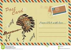 traditional postcard template vintage postcard with traditional american peace