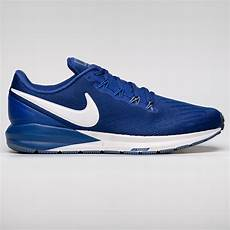 mens blue nike air zoom structure 22 free next day