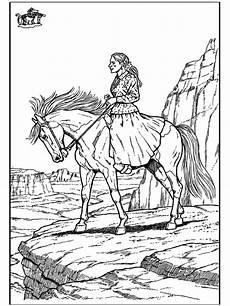 Ausmalbild Indianer Pferd Ausmalbilder Indianer Pferd Ausmalbilder