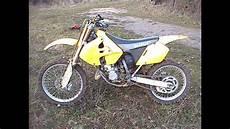 Suzuki Rm 125 - motocross suzuki 125 rm de 2000 burn 5 vitesses