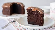 how to make a simple chocolate cake easy homemade chocolate cake recipe youtube