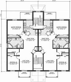 multiplex house plans six plex multi family house plan 90153pd architectural