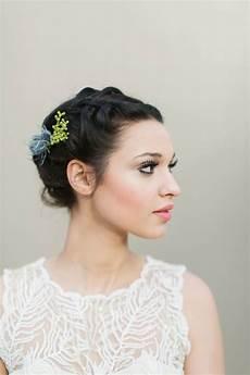 48 chic wedding hairstyles for short hair deer pearl flowers