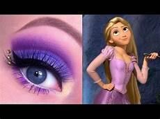 princess rapunzel makeup tutorial glittergirlc