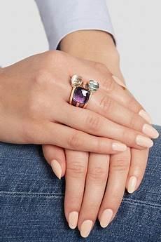 nudo pomellato pomellato nudo maxi ring aus 18 karat ros 233 gold mit