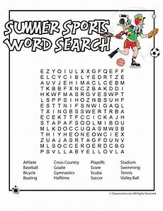 summer sports worksheets 15878 summer sport word search literacy summer words nu est jr and words