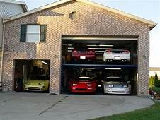 The Only Way For Us To Fit Cars In Our Garage
