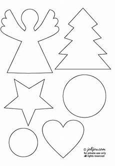 crafting tutorial templates weihnachten