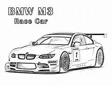 bmw m3 race car coloring page free printable pages for