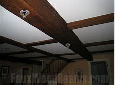 Installing a Fire Sprinkler System in Beams   Faux Wood