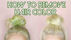 How To Get Blue Out Of Your Hair