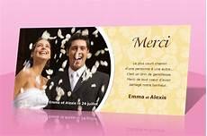 carte remerciement mariage invitation mariage carte