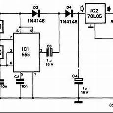 555 timer circuit diagram police siren simple schematic collection