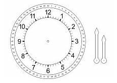 Malvorlagen Uhr Ums Druckvorlage F 252 R Eine Lern Uhr F 252 R Kinder Uhr F 252 R Kinder