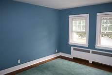 Wandfarbe Blau Wohnzimmer - my home blue accent wall