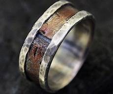 rustic men s wedding ring bold fashion and ring