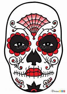 how to draw mexican mask masks