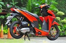 Modifikasi Jok Motor Vario 150 by Kumpulan Foto Modifikasi Motor Vario 150 Terbaru Zofay Texaw