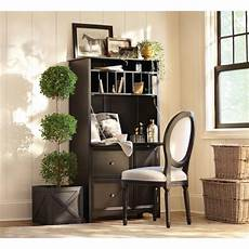 black home office furniture collections home decorators collection oxford black secretary desk